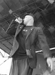 Jack from TSOL - Warped Tour 2000, Anaheim, CA